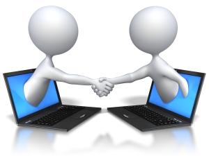 Online-Offline-Handshake